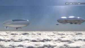 NASA Wants to Create a City of Airships Above Venus' Clouds [Video]