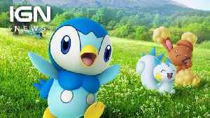 First Pokemon from Diamond and Pearl Are Now Available in Pokemon Go - IGN News [Video]