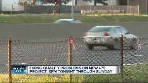 M-DOT says recently completed section of I-75 in Oakland County needs repairs [Video]