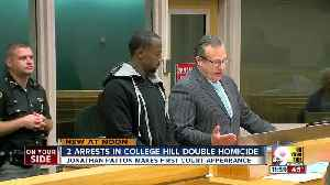 Police arrest suspects in fatal shooting outside College Hill bar [Video]