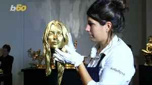 Gold Ferrari, Bust of Kate Moss's Head & More Out-There Items at Sotheby's 'Midas Touch' Auction [Video]