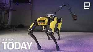 Boston Dynamics is making robots that twerk and parkour  | Engadget Today [Video]