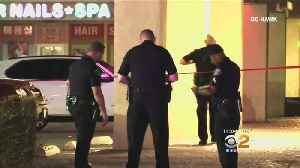 Man Found Fatally Stabbed In Parking Lot Of Anaheim Strip Mall [Video]