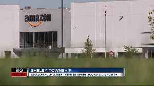Amazon fulfillment center spurs economic growth [Video]
