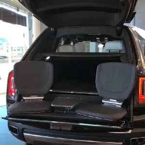 Rolls Royce's first-ever SUV has hidden tailgate chairs [Video]