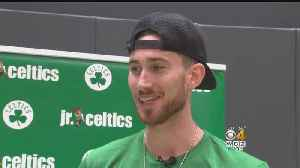 Haywards Wife Helped Him Prepare For Season Opener With Celtics [Video]