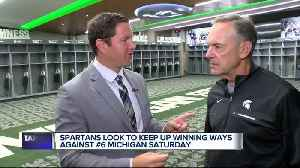 Mark Dantonio excited for rivalry week [Video]