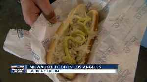 News video: Dodgers Stadium offers Milwaukee food options