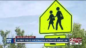 Hominy police investigating attempted abduction [Video]