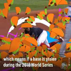 Everyone in the U.S. Gets Free Taco Bell When a Base is Stolen in the World Series [Video]