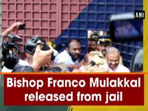Bishop Franco Mulakkal released from jail [Video]