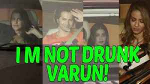 Varun Dhawan Fully Drunk At KUCH KUCH HOTA HAI 20 YEARS Completion Party At KJO House | Bollywood [Video]
