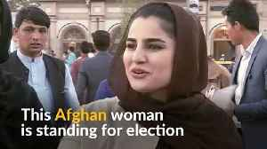 Women candidates brave violence in Afghan election [Video]
