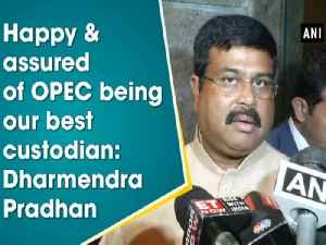 Happy & assured of OPEC being our best custodian: Dharmendra Pradhan [Video]