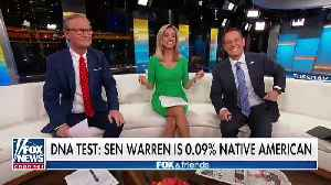 Trump Again Goes After Warren: Her 'False' Native American Claim Selling Only To 'Very Low I.Q. Individuals' [Video]