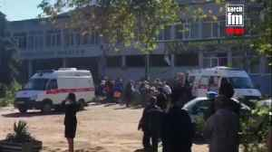 Suspected explosion in Crimea college kills at least 13 [Video]