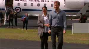 Harry And Meghan Visit Drought-Stricken Area Of Australia [Video]