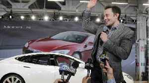 News video: Tesla Says Elon Musk Plans To Buy $20 Million Worth Of Stock As Soon As Possible