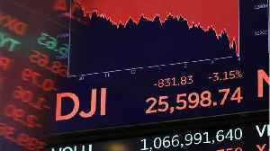 The Dow Jones Sinks More Than 200 Points [Video]