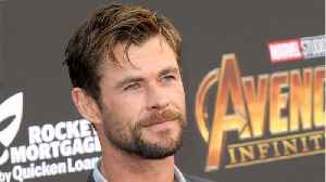 Chris Hemsworth Wraps Filming For 'Men In Black' [Video]