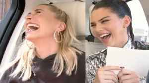Hailey Baldwin & Kendall Jenner Take Lie Detector Test: Justin's Thoughts on Kendall Revealed [Video]