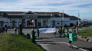 Man completes epic journey from John O'Groats to Land's End [Video]