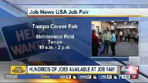 Companies looking to hire participating in job fair at Steinbrenner Field on Wednesday, October 17 [Video]