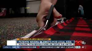 Hello humankindness: Locals make blankets for children in need [Video]