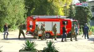 At least 13 people killed in armed attack on Crimean college