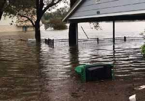 Rising Water Levels Drench Properties on Colorado River's Banks in Kingsland, Texas [Video]