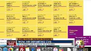 WOW Air will halt operations out of CVG after October [Video]