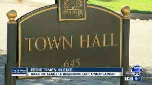 Is something eerie and strange happening inside Erie town hall? [Video]