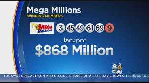 Mega Millions Jackpot Surges To New Record $868 Million