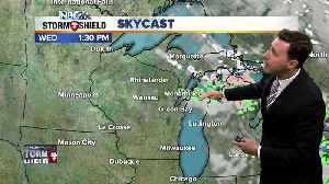 Michael Fish's NBC26 Storm Shield weather forecast with flu shot fears [Video]