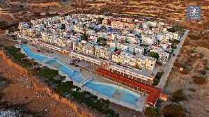 Creepy drone footage captures abandoned settlement in Greece [Video]