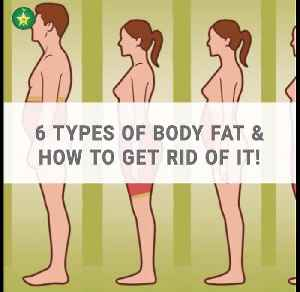 6 types of body fat & how to get rid of it [Video]