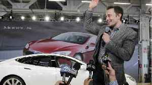 Tesla Says Elon Musk Plans To Buy $20 Million Worth Of Stock As Soon As Possible [Video]