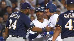 Manny Machado Called 'Dirty' by Brewers After Collision With Jesus Aguilar [Video]