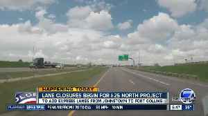 Work begins on I-25 North Express Lanes project [Video]