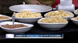 Create your own pasta bar at home to celebrate National Pasta Day [Video]