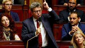 Raw Politics: French left leader Jean-Luc Mélenchon reacts angrily to police raids [Video]