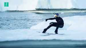 Wakeboarder Almost Freezes Taking On Icebergs In Greenland [Video]