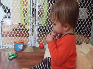 Tot Can't Make up his Mind on Which Pacifier he Wants! [Video]