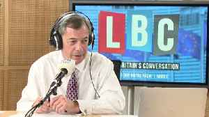 Caller's Immigration Claim Sparks Brexit Row With Farage [Video]