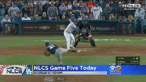 Dodgers Will Try To Take Series Lead Before Heading Back To Milwaukee [Video]