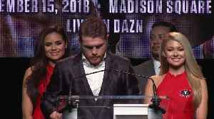Canelo Alvarez signs richest contract in sports history [Video]