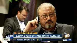 Questions mount over missing Saudi journalist [Video]