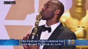 Animation Festival Boots Kobe Bryant From Jury After #MeToo Petition [Video]