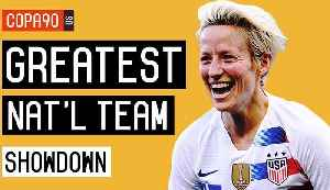 News video: USWNT: The Greatest Team in North America? - The Showdown | Ep. 3