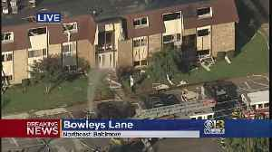 7 Firefighters, 2 Others Injured In Gas Explosion At Baltimore Apartment [Video]